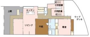 Takumi Apartment 間取り