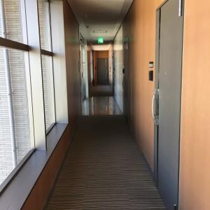 京町キングダム 共用廊下